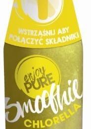 smoothie chlorella żółty